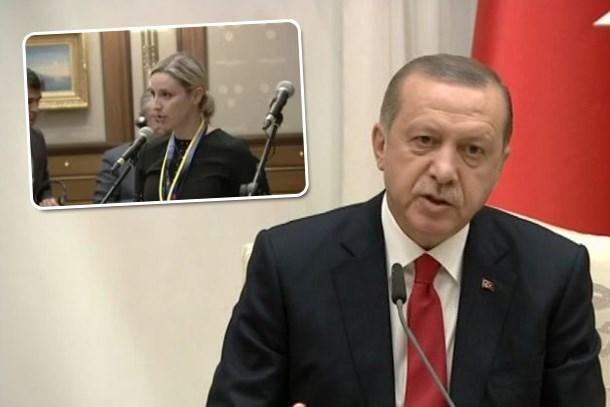 Cumhurbaşkanı Erdoğan'dan Amerikalı gazeteciye DAEŞ uyarısı