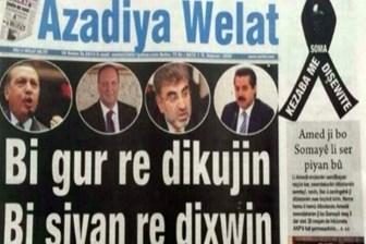 Azadiya Welat gazetesine polis baskını!