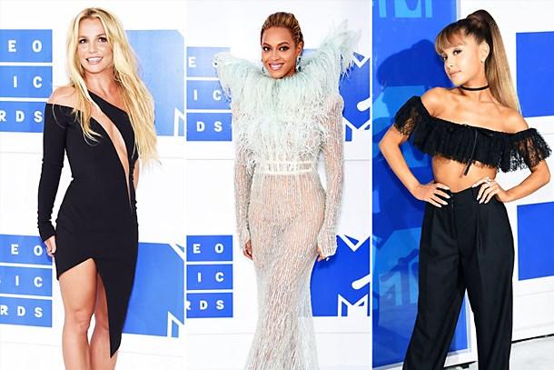 MTV Video Müzik Ödülleri'nde şıklık yarışı!