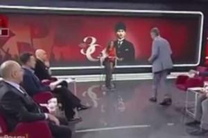 Atatürk'ü tartışmam dedi, canlı yayını terk etti!