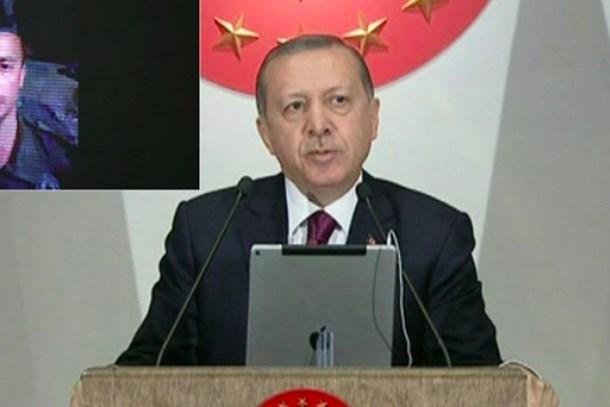 Cumhurbaşkanı Erdoğan, Beştepe'den Cerablus'a 'canlı' bağlandı!
