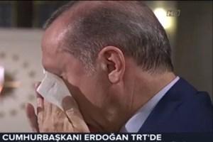 İşte Erdoğan'ın gözyaşları!