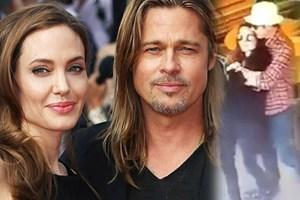 Angelina Jolie ve Brad Pitt'in son görüntüleri ortaya çıktı!