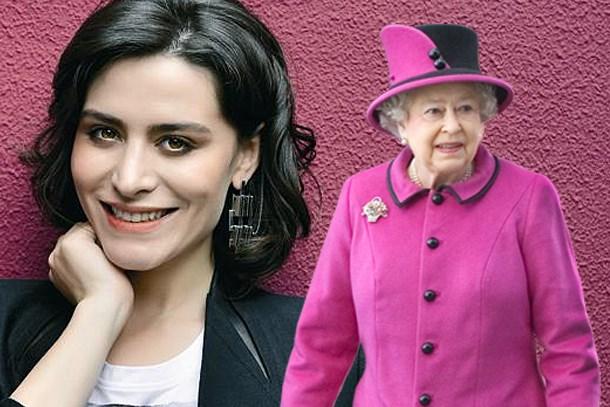 Belçim Bilgin Kraliçe Elizabeth'e komşu oldu
