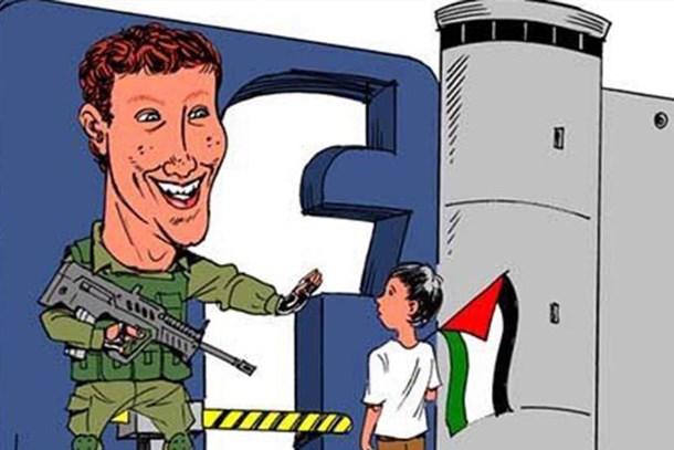 Facebook'tan Filistinli gazetecilere sansür!