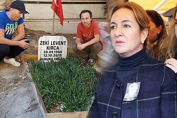 'Levent Kırca'nın mezarı' polemiğine Aslı Çetiner'den sert tepki: Yazıklar olsun!