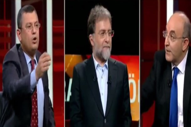 Ahmet Hakan'ın programında büyük kavga! 'Bu yaptığın edepsizlik ve şerefsizlik'
