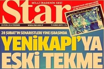 Star : 'Şortlu kadına tekme' haberinin amacı Yenikapı mutabakatını bozmak!