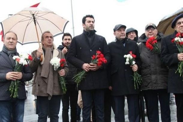 Kenan İmirzalıoğlu'ndan Ali Poyrazoğlu'na 'Teröre hayır' dediler
