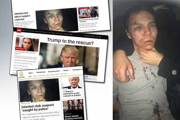 Dünya 'Reina Katliamcısı Yakalandı' haberini hangi haber ajansından öğrendi? (Medyaradar/Özel)