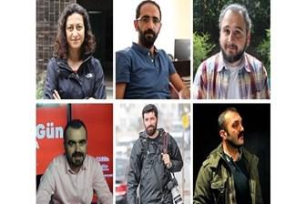 24 gündür gözaltında tutulan 6 gazeteciye tutuklama talebi