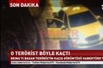 Habertürk o görüntüyü yayınladı! Reina'yı kana bulayan terörist böyle kaçmış!