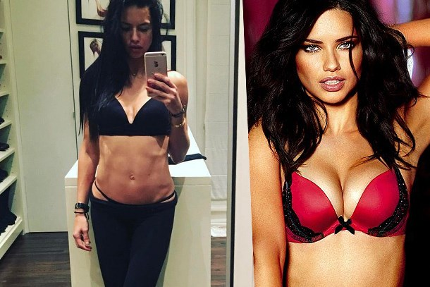 Adriana Lima'dan seksi paylaşım!