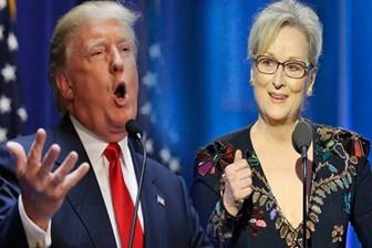 Donald Trump'tan Meryl Streep'e cevap gecikmedi: O bir...
