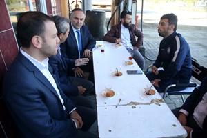 Kenan Sofuoğlu, yeni yapılan pisti inceledi