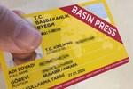 889 gazetecinin sarı basın kartı iptal edildi!