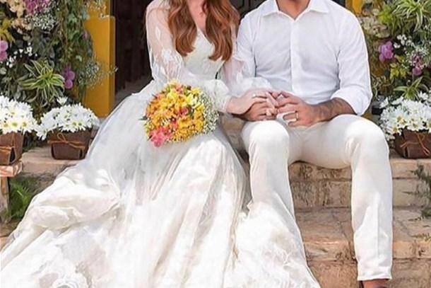 Elçin Sangu ve Barış Arduç'u da evlendirdiler!