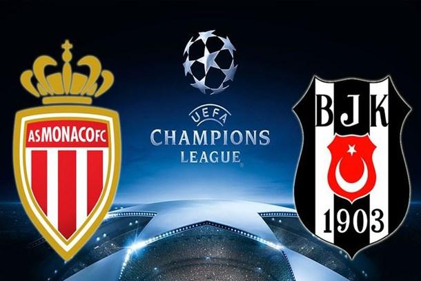 Monaco-Beşiktaş maçı saat kaçta, hangi kanalda?