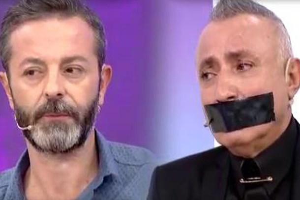Seda ve Uğur'la programında RTÜK protestosu! Ağzını bantladı!