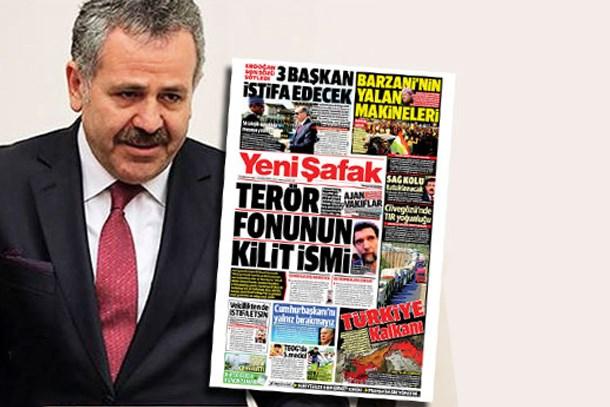Yeni Şafak'tan Şaban Dişli manşeti: Vekilliği bıraksın!
