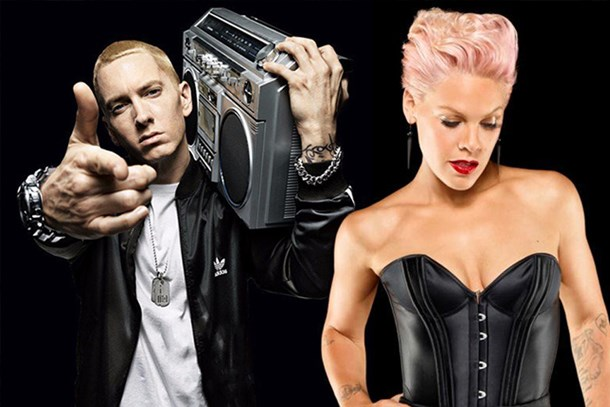 Pink'ten Eminem'e aşk mektubu!