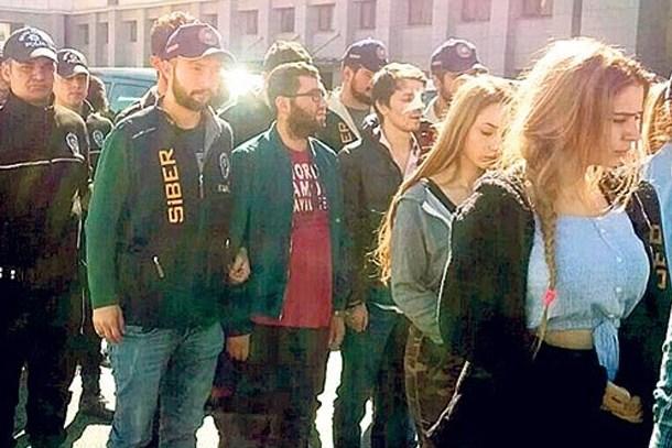 Ünlülere sanal şantaja 14 tutuklama!