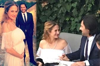 Set aşkı nikah masasında bitti! Canan Ergüder ve Kenan Ece evlendi!