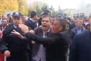 Gökçek taraftarlarını Akit TV'ye saldırdı