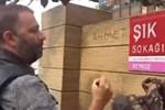 Şevket Çoruh'tan 'Şık' hareket: Sokağın adını 'Ahmet Şık' olarak değiştirdi