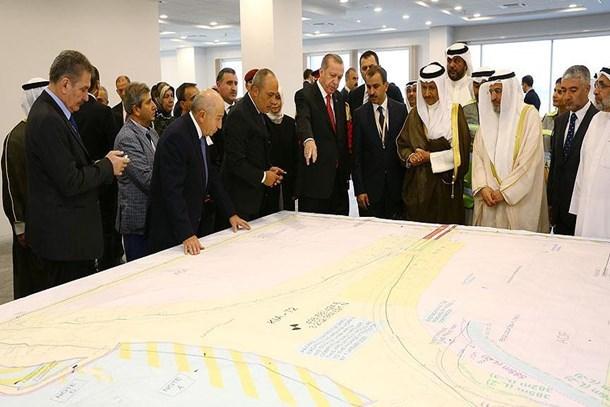 Erdoğan Limak'ın Kuveyt Havalimanı'nı inceledi!