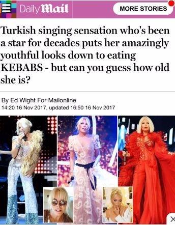 İngiliz basınından Ajda Pekkan'a övgü: Kaç yaşında?