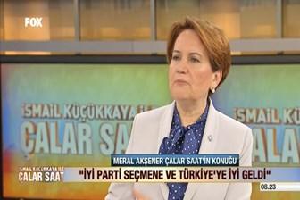 Meral Akşener'den canlı yayında Reza Zarrab açıklaması: Ben korkuyorum ki...
