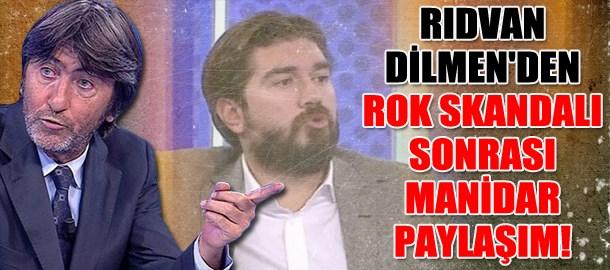 Rıdvan Dilmen'den ROK skandalı sonrası manidar paylaşım!