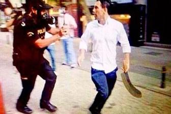 Gezi'nin palalı saldırganı ayaklarından vuruldu!