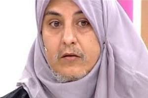 Zahide Yetiş'in programına katılan sakallı kadın olay oldu