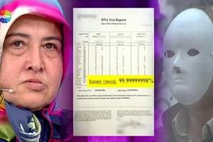 Türkiye'nin beklediği DNA testi canlı yayında açıklandı!
