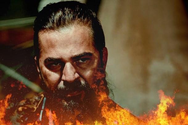 'Diriliş Ertuğrul' setinde yangın şoku! Çekimlere ara verildi!