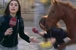 Show TV muhabirine at saldırdı, sosyal medya sallandı!