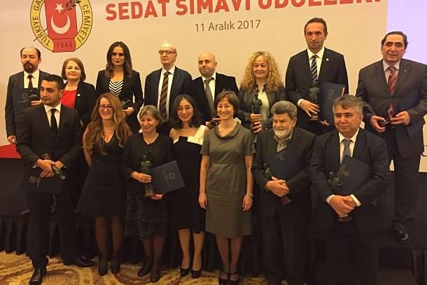 TGC Sedat Simavi Ödülleri sahiplerini buldu!