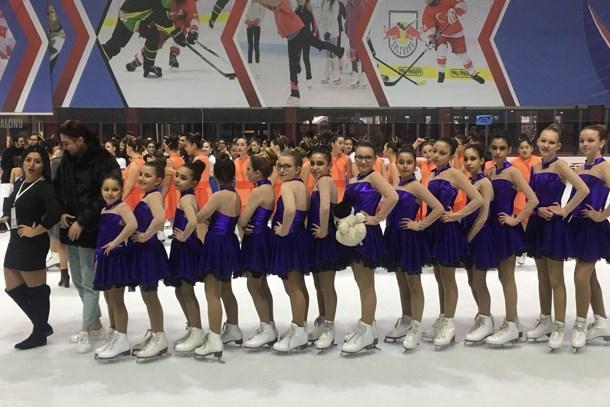 Bosphorus Blue Senkronize Buz Pateni Takımı, Türkiye ikincisi oldu!