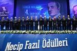'Necip Fazıl Ödülleri 2017' sahiplerini buldu