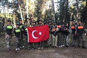TRT'ciler 2017 yorgunluğunu böyle attı!