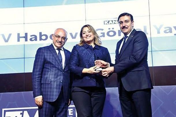Kanal D ihracat şampiyonu oldu!