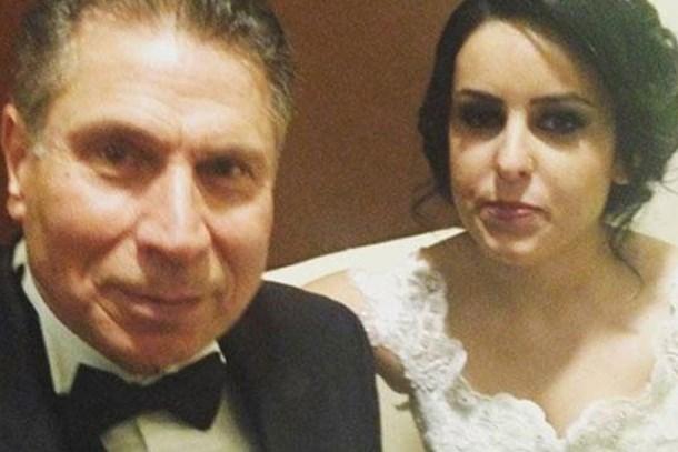 Hayta İsmail 40 yaş küçük sevgilisiyle evlendi!