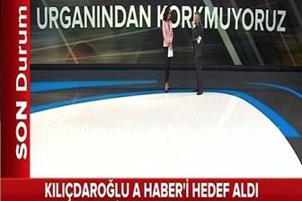 Kılıçdaroğlu'nun hedef aldığı A Haber'den tepki yayını: