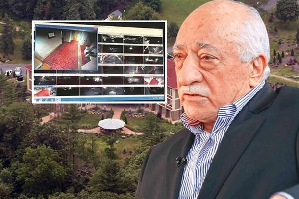 Fethullah Gülen'in inine girdiler: İşte yatak odasının görüntüleri!