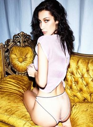 Bella Hadid'ten cesur pozlar! Dikkat yüksek erotizm içeriyor!