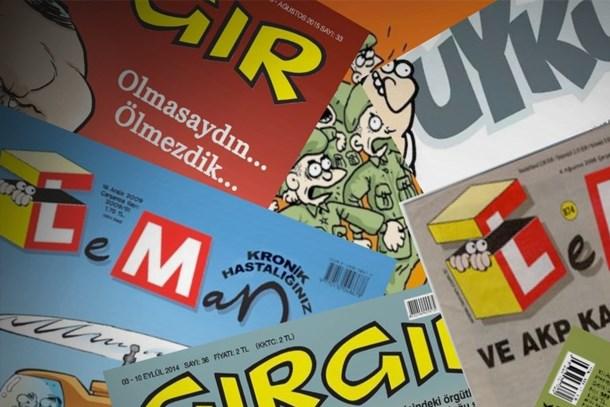 Mizah dergilerinin kapağında bu hafta neler var? (Medyaradar/Özel)