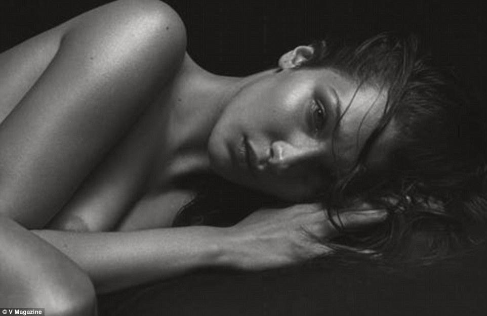 Üzgün güzel: Bella Hadid