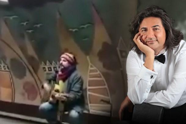 Çelik Taksim metrosunda şarkı söyledi! Ne kadar kazandı?